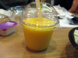 Mango Pineapple Real Fruit Smoothie