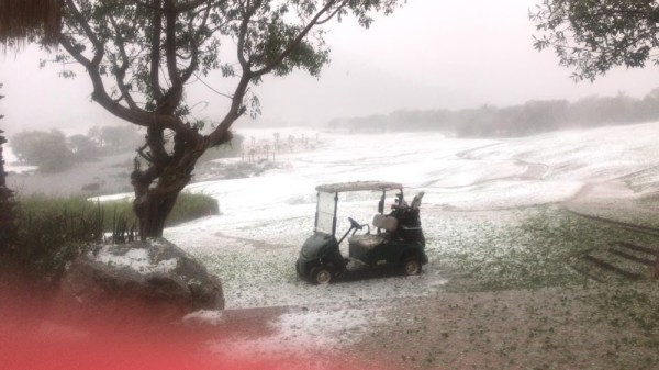 Guests share their experiences of hail storm damage at Sun ...