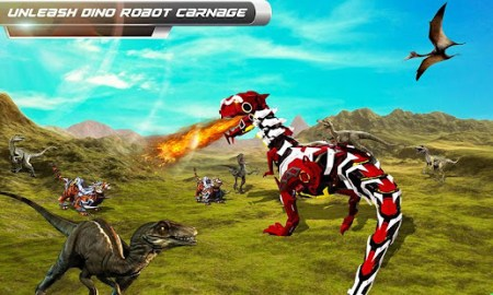 Robot Dinosaur vs Tiger Attack TRex Dinosaur Games   Apps on Google Play Screenshot Image