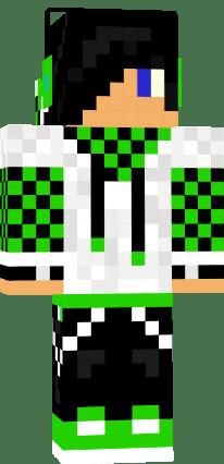 Music Boy Green Black And White Nova Skin