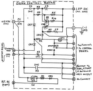Onan 6500 Commercial Generator Wiring Diagram  Happy Living