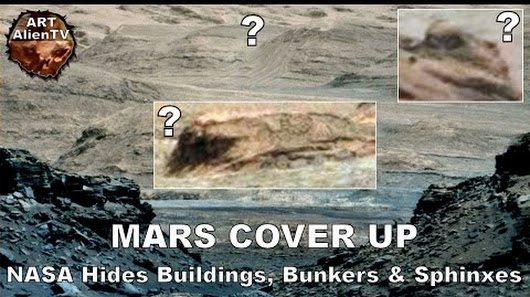 Is NASA hiding ancient ruins on Mars? What resemble ...
