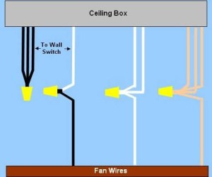 Typical Ceiling Remote Control Wired Shown Wiring   Diagram for Reference