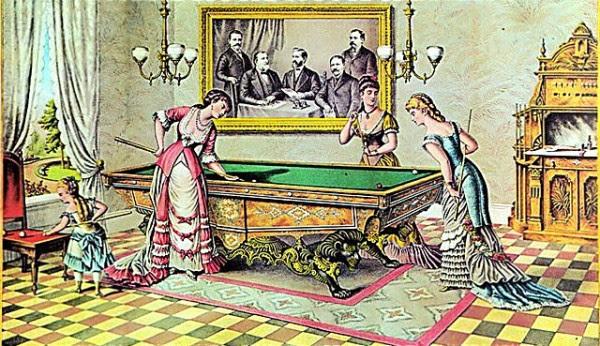 emma : как играть в бильярд показать на фото
