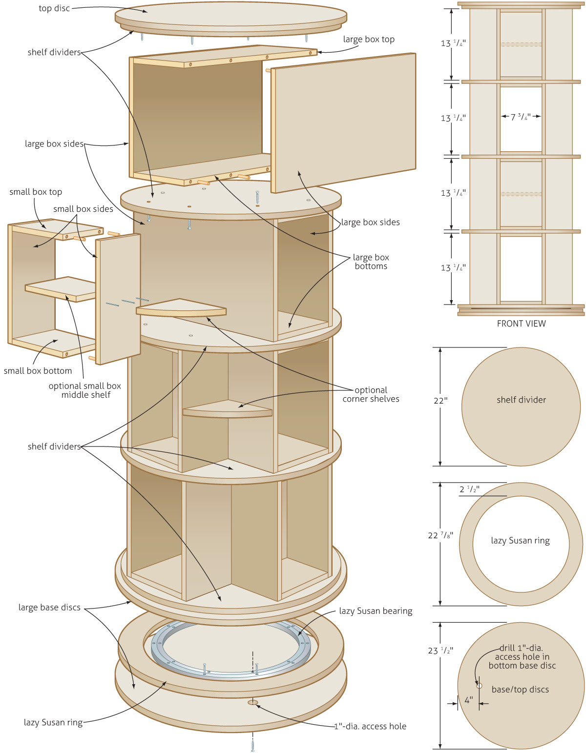 Woodguide Woodworking Plans For A Kitchen Table