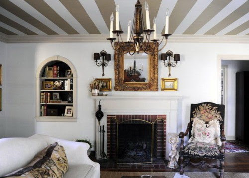 Vivid Hue Home: Ceilings: Why Put A 'Lid' On Them?
