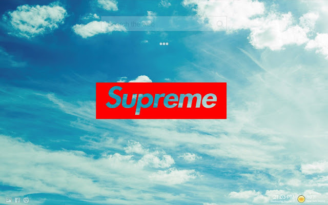 Supreme Wallpapers   New Supreme Collection   Chrome Web Store Overview  Supreme themes   Supreme wallpapers