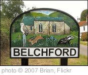 'Belchford Village Sign, Lincolnshire' photo (c) 2007, Brian - license: http://creativecommons.org/licenses/by-sa/2.0/