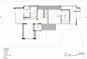 Plano Casa FF Hernandez Silva Arquitectos
