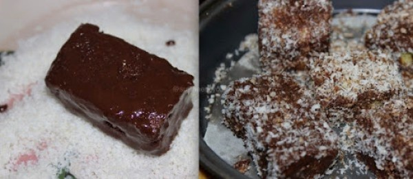 Lamingtons Cake step7