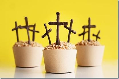 cross dessert