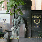 A monument in front of Mary Magdalene church in Chorzów Stary.