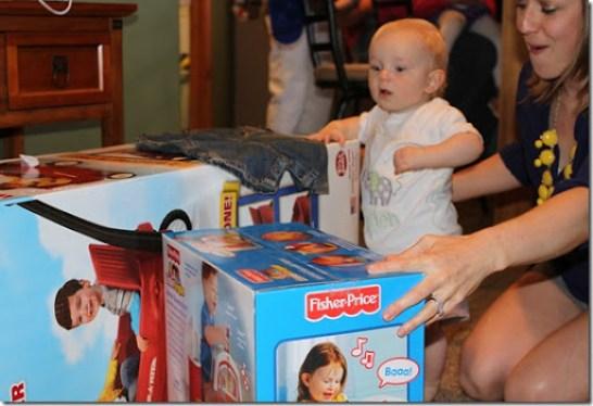 Hayden's first birthday 115