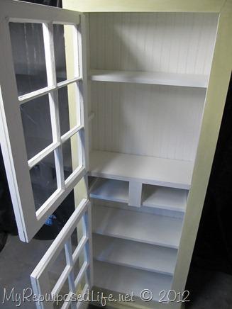 cupboard built from scratch