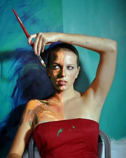 Las increíbles pinturas humanas de Alexa Meade7
