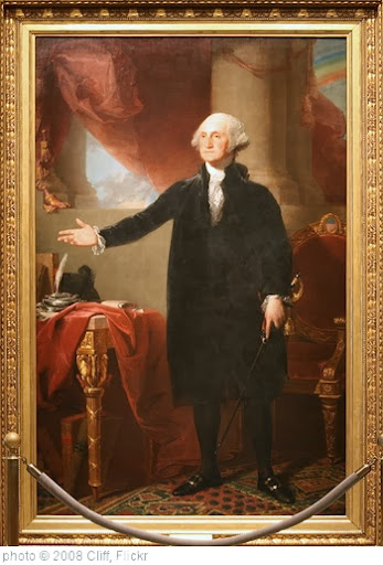 'George Washington (Lansdowne portrait), First President (1789-1797)' photo (c) 2008, Cliff - license: http://creativecommons.org/licenses/by/2.0/
