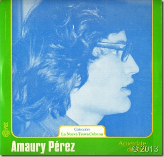 Amaury Pérez - 1976 - Acuérdate de abril - Ed. México - Frontal