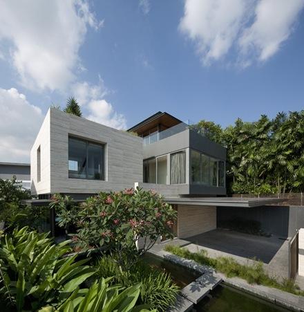 fachada-la-casa-de-los-sueños-Travertine-Wallflower-Architecture Design