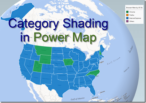 Category shading within Regions in Power Map