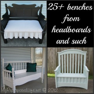 headboard bench ideas