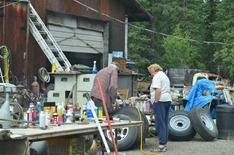 the tire repair shop