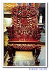 【很威的專業辦公椅】實木雕刻九龍椅~乩身辦事可用~有太極八卦圖當靠山及九條龍貼身守護的喲!