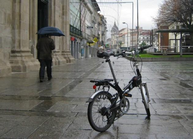 Bicicleta chuva