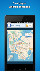 New-York city subway map (NYC) screenshot 6