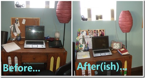 Desk Collage