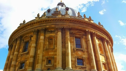 Scenes from around Oxford Town in March 2014