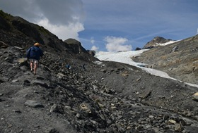 which way to the glacier?
