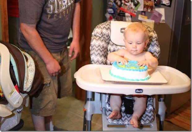 Hayden's first birthday 142