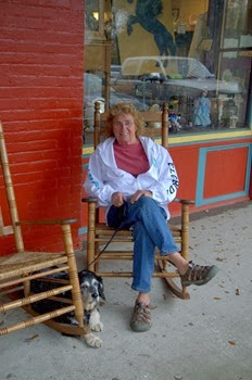 hanging out in Micanopy