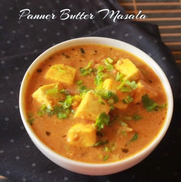 Panner butter masala 1