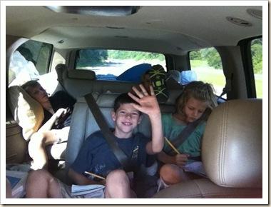 travelling kids