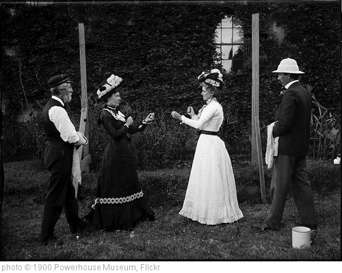 'Two women boxing' photo (c) 1900, Powerhouse Museum - license: http://www.flickr.com/commons/usage/