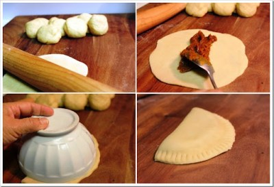 Pumpkin Turnovers Empanadas