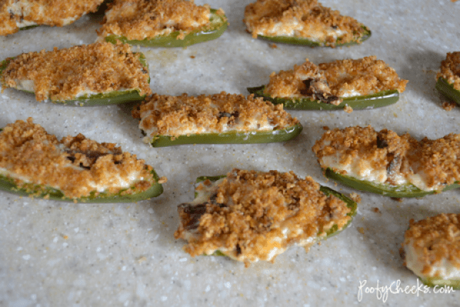Cheddar Bacon Jalapeno Popper Recipe #appetizer