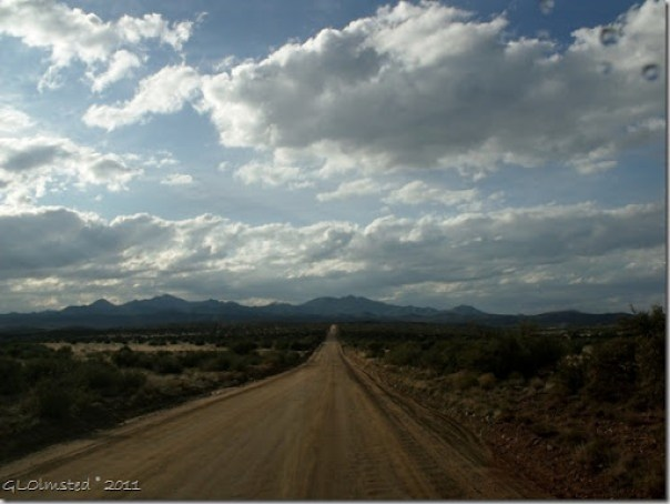 Weaver Mts from Wagner Road Arizona