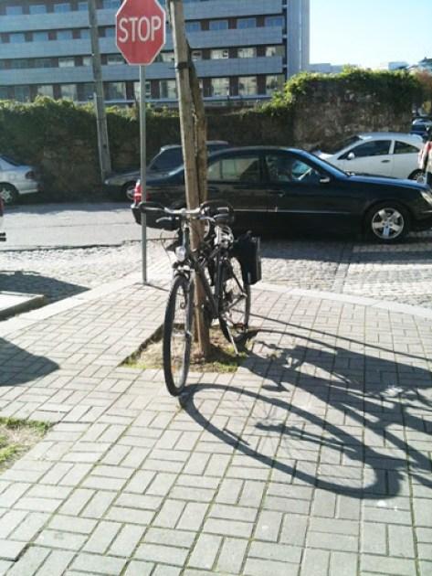 Estacionamento bici 047A