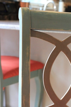 Chalk Paint Barstool