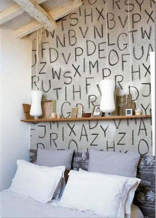 case e interni - decorare con letere e numeri (5)