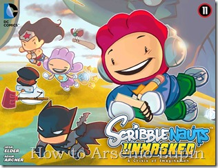 Scribblenauts Unmasked - A Crisis of Imagination 011-000