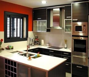 cocina-negra-moderna Cocinas de diseño