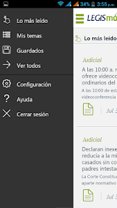 LegisMovil screenshot 2