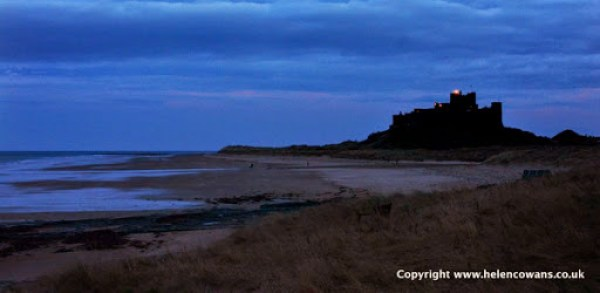 Bamburgh evening