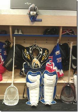 Tyler Glebe's locker