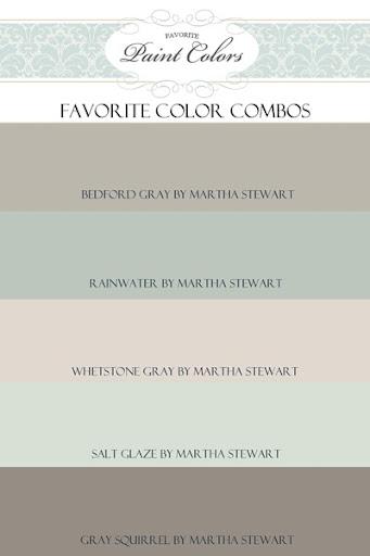 Paint Color Combination for Bedford Gray: Favorite Paint Colors