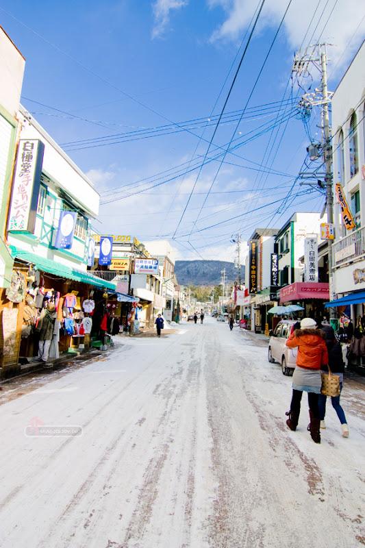 日本輕井澤街道風景
