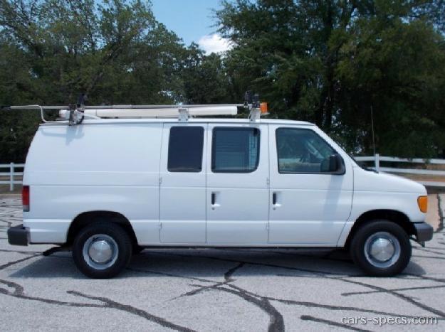 Van Ford Cargo Dimensions Econoline